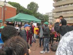 Celebrating diversity and culture within Hillfields as part of the Positive Images Festival