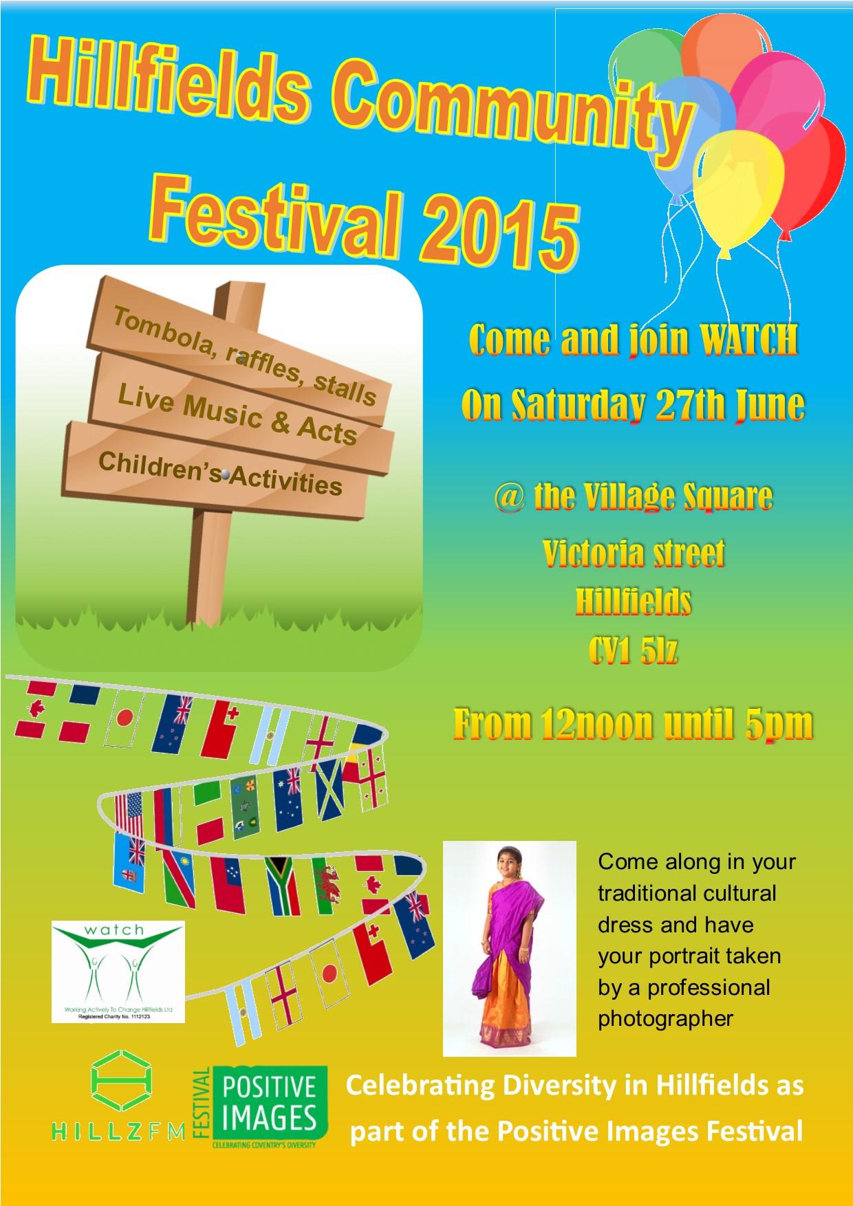 Hillfields Community Festival 2015