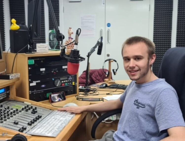 Coventry College student lands radio presenter role alongside studies