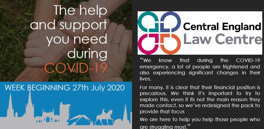 Covid-19- Service Help and guidance Edition 15 – 27th July 2020
