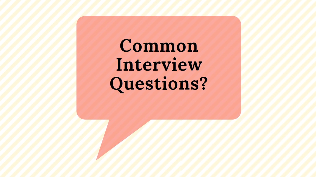 ESOL Common interview questions