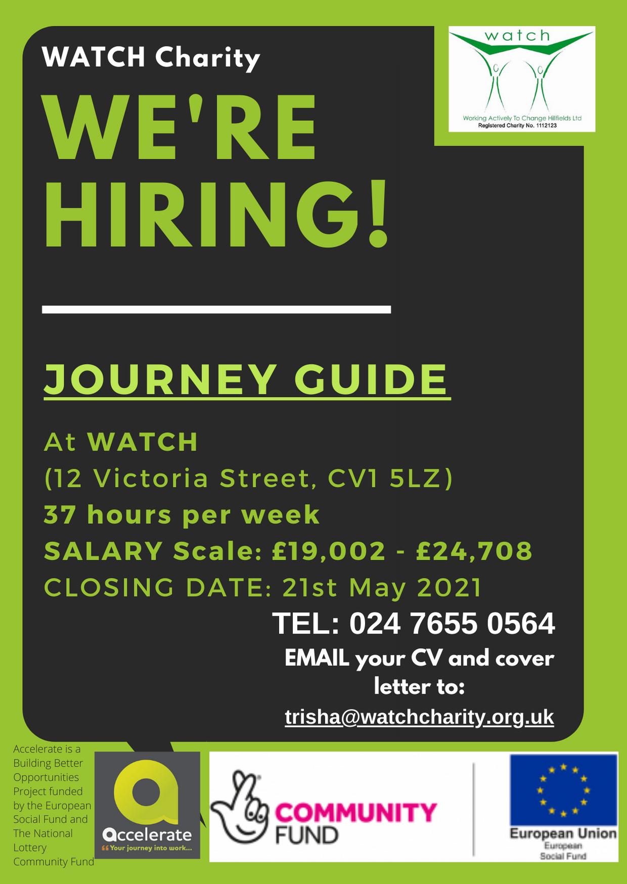 Journey Guide Vacancy