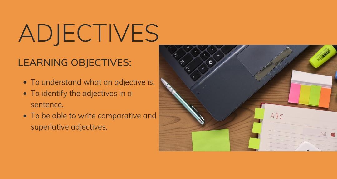 ESOL adjectives